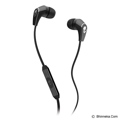 SKULLCANDY 50/50 In-Ear w/Mic [S2FFFM-256] - Black/Black - Earphone Ear Monitor / IEM